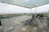 Феодосия, апартаменты у моря по доступной цене - Большая терраса с видом на море