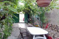 Снять частный дом в Крыму летом - Небольшой зеленый дворик