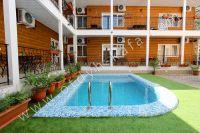 Отдых в Феодосии, пансионаты с бассейном - Удобный подъем из бассейна