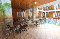 Отдых в Феодосии, пансионаты с бассейном - Столовая зона