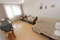Аренда квартир в Феодосии - просторная комната с кондиционером и телевизором
