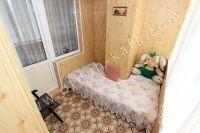 Недорого сдам квартиру в Феодосии у моря - Софа на балконе для отдыха