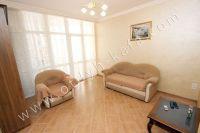 Снять квартиру в Крыму посуточно у моря - Двуспальный диван