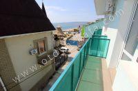 Современная гостиница на Черноморской Феодосии - Балкончик с видом на море