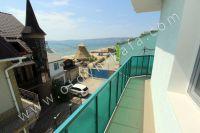 Современная гостиница на Черноморской Феодосии - Вид на море с третьего этажа