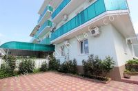 Современная гостиница на Черноморской Феодосии - Маленький, уютный дворик гостиницы