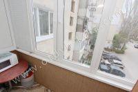 Феодосия квартиры посуточно без посредников - Балкон с видом во двор