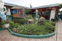 Гостиницы Феодосии - Много зелени во дворе