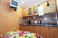 Отдых в Феодосии 2021 в уютной квартире в центре города - Телевизор на кухне.