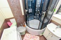 Отдых в Феодосии 2021 в уютной квартире в центре города - Небольшая ванная комната.