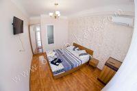 Гостиница на Черноморской набережной Феодосии  - Мягкие двуспальные кровати