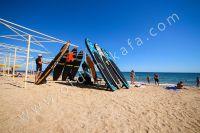 Крым, Феодосия — отдых на Восточном побережье - Песчаный пляж.