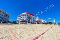 Крым, Феодосия — отдых на Восточном побережье - Площадка для волейбола.