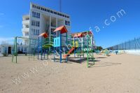 Крым, Феодосия — отдых на Восточном побережье - Детская площадка.