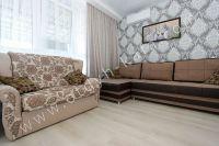 Феодосия! Жилье у моря ждет вас - Удобный двуспальный диван.