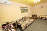 Для отличного отдыха, снимайте квартиры в Феодосии - Удобный двуспальный диван