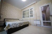 Лучшая аренда квартир в Крыму у моря - Мягкая двуспальная кровать.