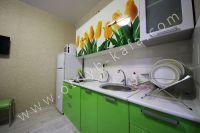 Лучшая аренда квартир в Крыму у моря - Светло-зеленые мягкие тона.